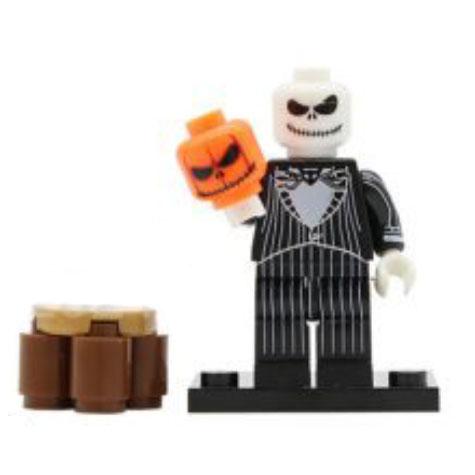 Halloween maszkos minifigura - KÉSZLETRŐL!