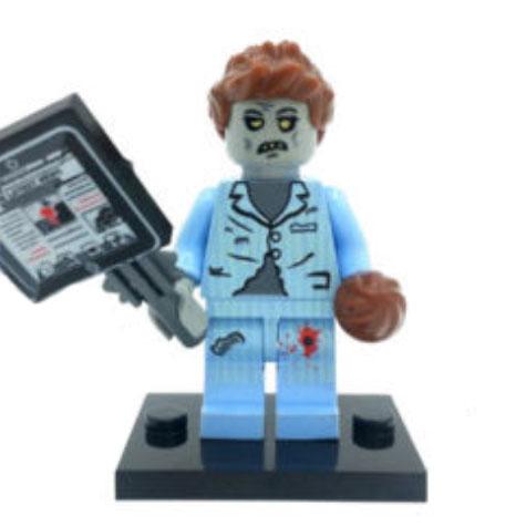 Zombi, doktor minifigura - KÉSZLETRŐL!