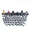 PUBG minifigura készlet rengeteg fegyverrel és kiegészítővel