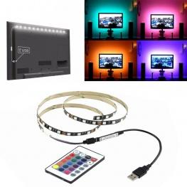 5V 5050 60SMD RGB LED szalag TV háttérvilágításához