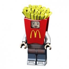McDonald's sültkrumpli jelmezes minifigura