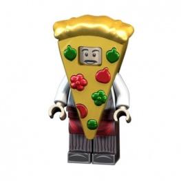 Pizza szelet jelmezes minifigura