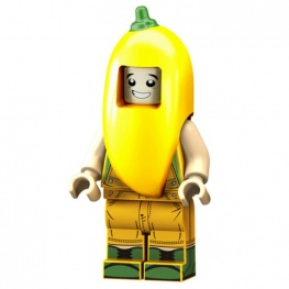 Sárga paprika jelmezes minifigura