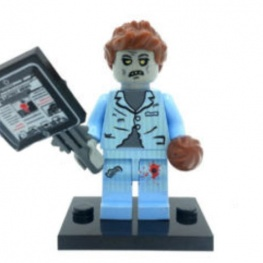 Zombi, doktor minifigura
