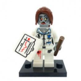 Zombi, doktornő minifigura