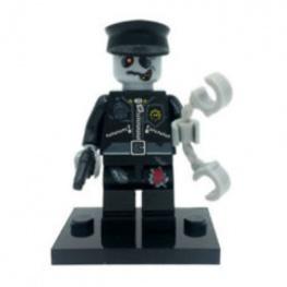 Zombi, rendőr minifigura