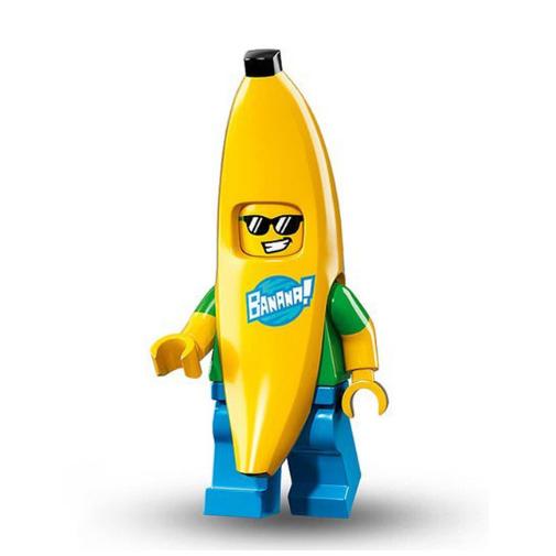 Banán jelmezes minifigura - KÉSZLETRŐL!