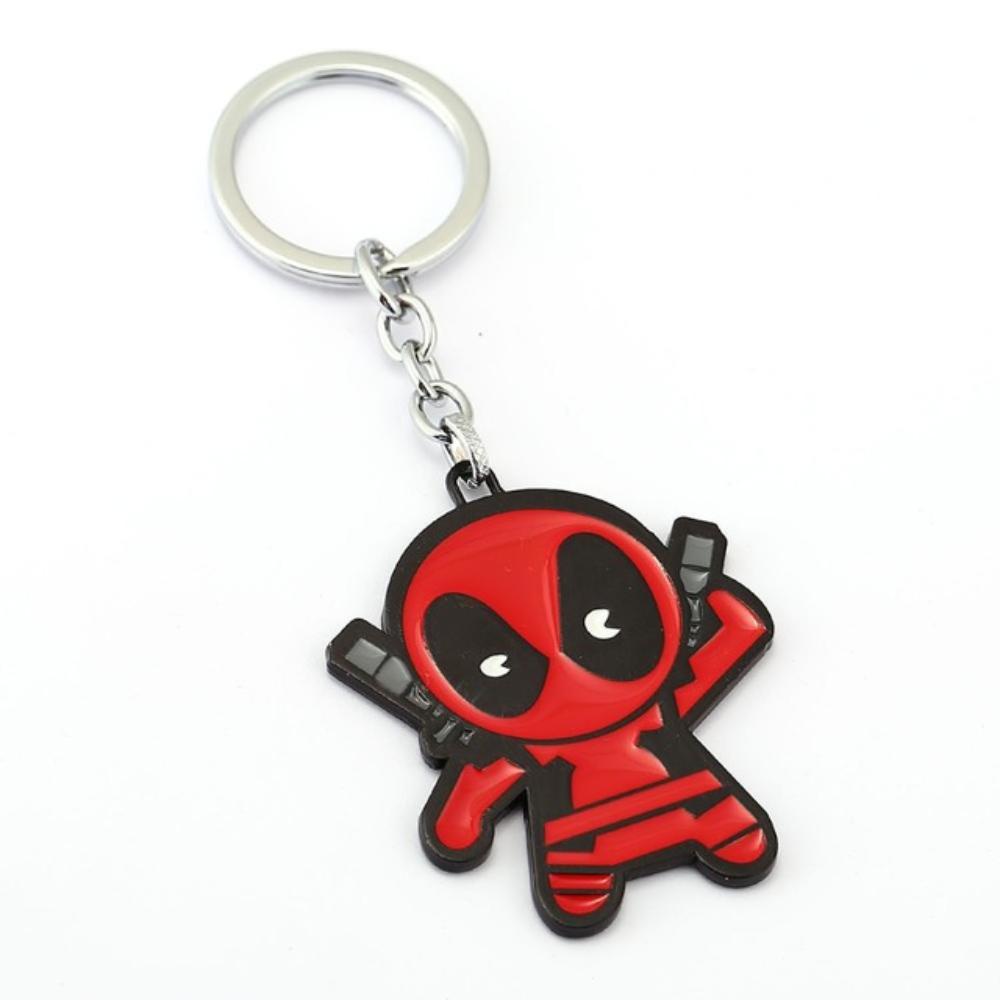 Deadpool kulcstartó, táskadísz - kardjához nyúló