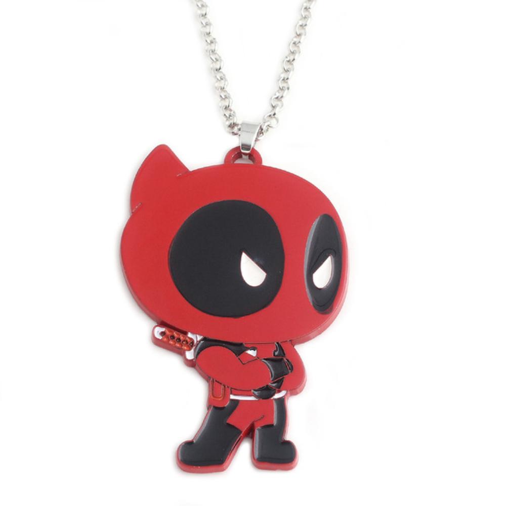 Deadpool nyaklánc - karbatett kézzel - KÉSZLETRŐL!