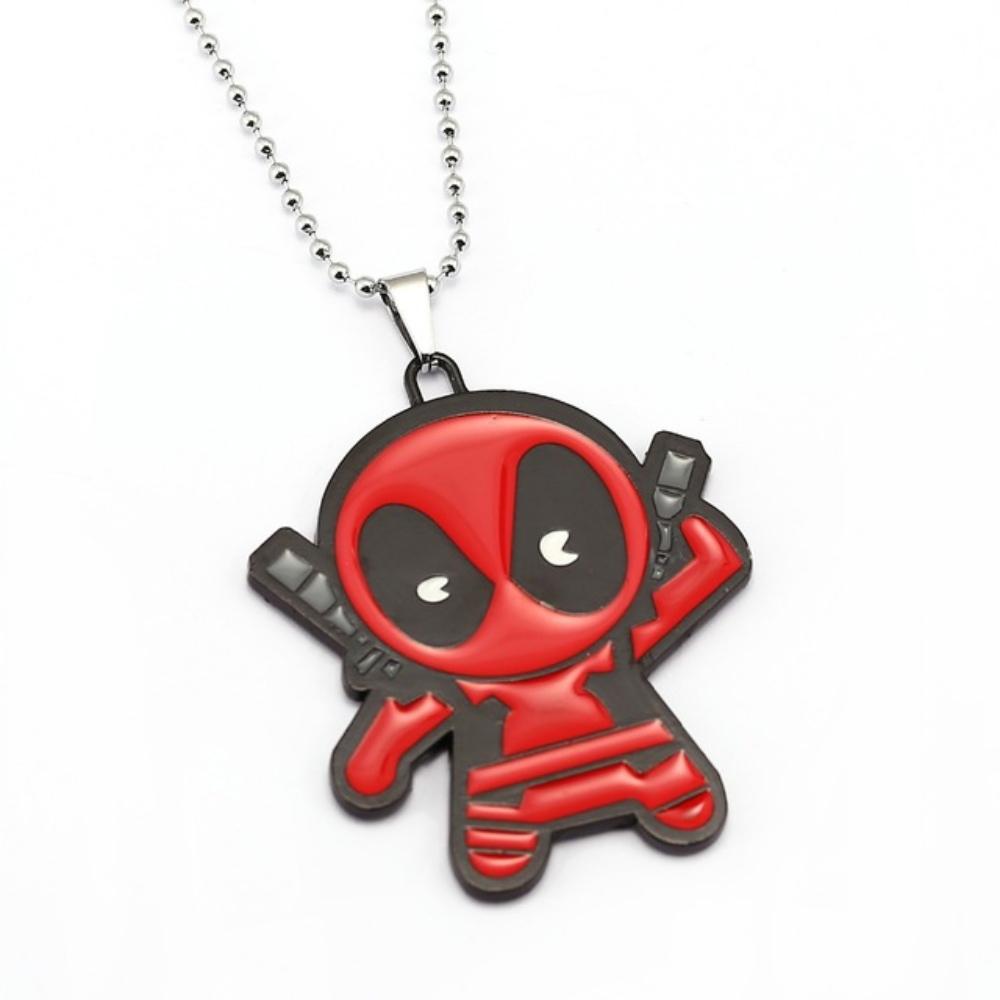 Deadpool nyaklánc - kardjához nyúló - KÉSZLETRŐL!