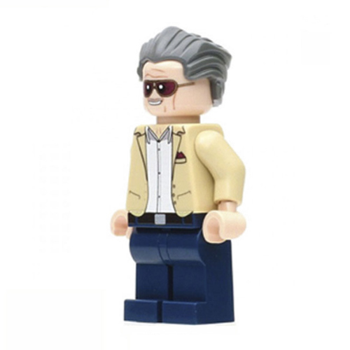 Stan Lee minifigura - KÉSZLETRŐL!