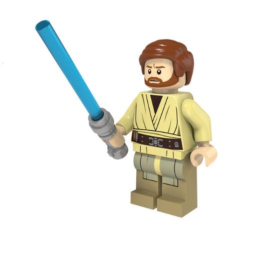 Star Wars, Obi-Wan Kenobi minifigura - KÉSZLETRŐL!