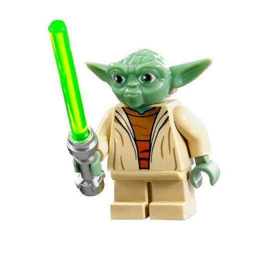 Star Wars, Yoda minifigura - KÉSZLETRŐL!