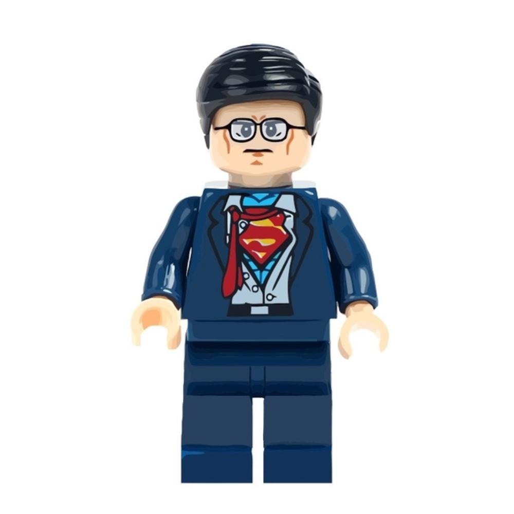 Superman, Clark Kent minifigura - KÉSZLETRŐL!