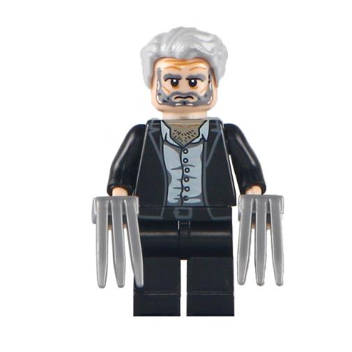 X-men, Logan minifigura zakóban - KÉSZLETRŐL!