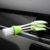 Univerzális portörlő szűk helyek törlésére, műszerfalhoz, vagy klaviatúrához - zöld színben