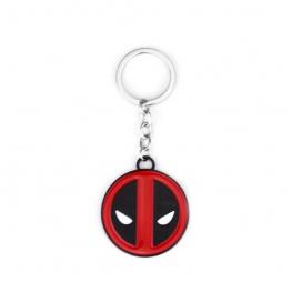 Deadpool kulcstartó, táskadísz - kör maszk