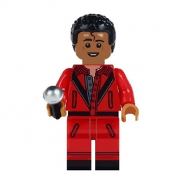 Michael Jackson minifigura barna bőrrel