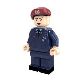 Rendőr hadnagy tiszt minifigura