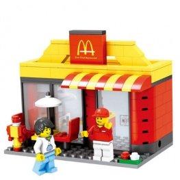 City - McDonald's üzlet figurával