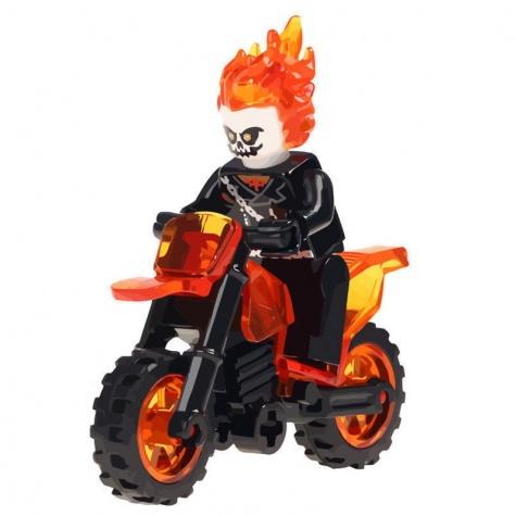 Ghost rider, A szellemlovas minifigura motorral