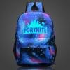 Világító Fortnite hátizsák - univerzum színben