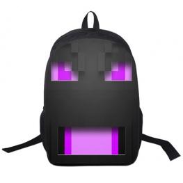 Minecraft hátizsák - Végzetsárkány (Ender dragon) mintával - Normál méretben