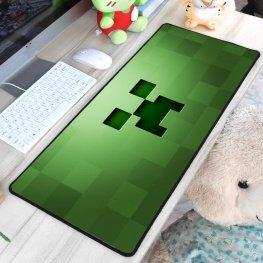 Minecraft XXL gamer szövet egérpad (igazi fanoknak) - zöld színben