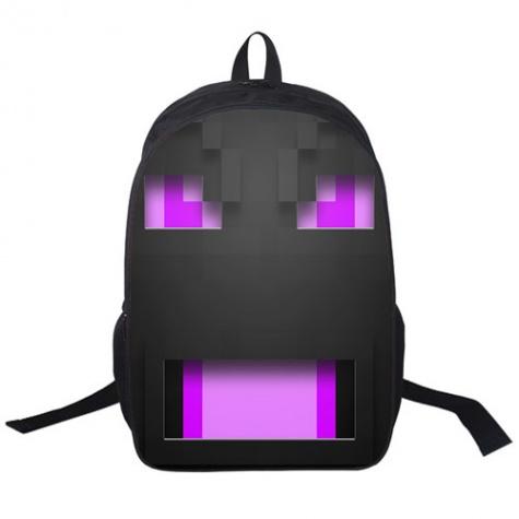 Minecraft hátizsák - Végzetsárkány (Ender dragon) mintával - Normál méretben 7067420439