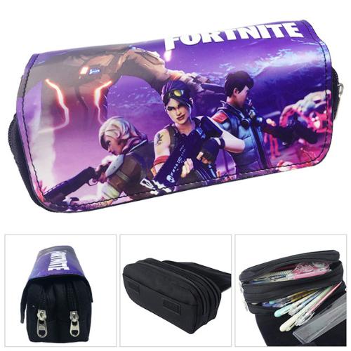Fortnite gamer tolltartó (2 részes) - lila csapat színben
