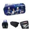 Fortnite gamer tolltartó (2 részes) - kék lila csapat színben