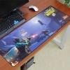 Fortnite XXL gamer szövet egérpad (igazi fanoknak) - lila Battle Royale színben