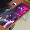 Fortnite XXL gamer szövet egérpad (igazi fanoknak) - rózsaszín színben