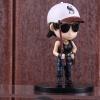 PUBG minifigura - női karakter fehér baseball sapkában figura