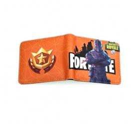 Fortnite Black Knight gamer pénztárca (érmetartóval) - narancssárga színben