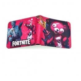 Fortnite Cuddle team leader gamer pénztárca (érmetartóval) - rózsaszín színben