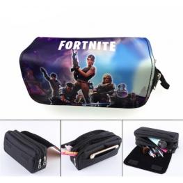 Fortnite gamer tolltartó (2 részes) - lila ég színben