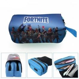 Fortnite gamer tolltartó (2 részes) - türkizkék színben