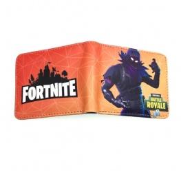 Fortnite Raven gamer pénztárca (érmetartóval) - narancssárga színben