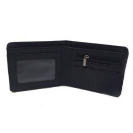 PUBG gamer pénztárca (érmetartóval) - kék szürke színben