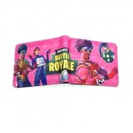 Fortnite Boggie Bomb gamer pénztárca (érmetartóval) - rózsaszín színben