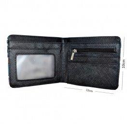 Fortnite Rust Lord gamer pénztárca (érmetartóval) - kék színben