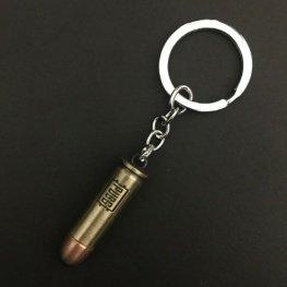 PUBG pisztoly töltény kulcstartó, táskadísz