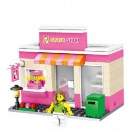 City - Sweet Shop üzlet figurával