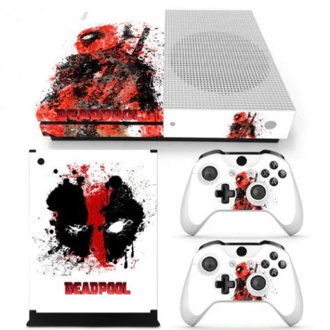 Deadpool fedő matrica Xbox One S konzolra és contollerre