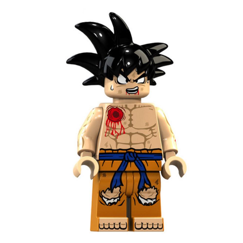 Dragon Ball Z, Son Goku minifigura - szakadt ruhában