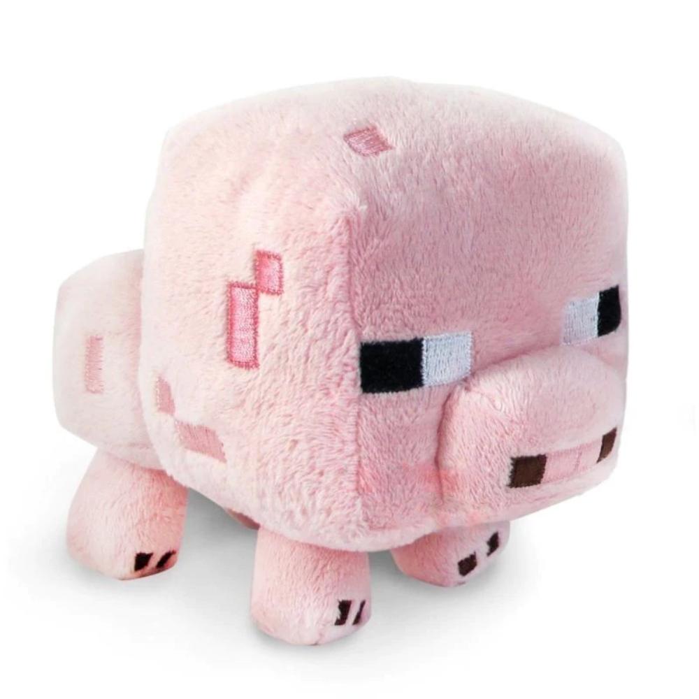 Minecraft plüss figura - Rózsaszín malac (Pink Pig) 20cm méretben - KÉSZLETRŐL!