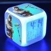 Fortnite éjjeli lámpa órával - Abstrakt Graffiti Artist színben
