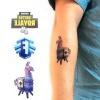 Fortnite lemosható tetoválás - Láma
