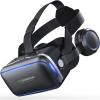 VR Shinecon 6.0 Profi VR Headset 4.5' - 6.0'-os Mobiltelefonokhoz Bluetooth Controllerrel és Fejhallgatóval - Igazi VR élmény!